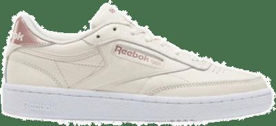 Reebok Club C 85 Ceramic Pink / Blush Metal / Cloud White FY5161