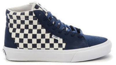 VANS VAULT Style 38 Vlt Lx-Footwear Navy / White / Checkerboard VN0A5JIYA1L1