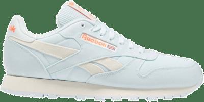 Reebok Classic Leather Chalk Blue / Classic White / Orange Flare FY7545