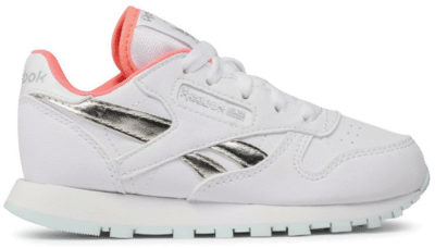Reebok Classic Leather Schoenen White / Chalk Blue / Twisted Coral FX2507