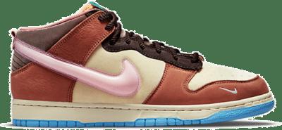 Nike Dunk Mid Social Status Free Lunch Chocolate Milk DJ1173-700