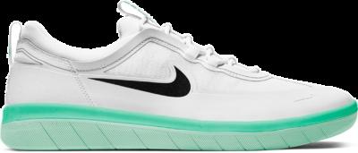 Nike SB Nyjah Free 2 White Black Green Glow BV2078-104