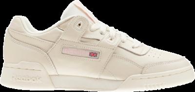 Reebok Workout Lo Plus White Practical Pink (W) CN4610