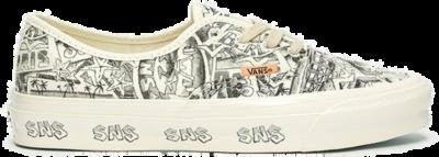 Vans OG Authentic LX x SNS 'White'  VN0A4BV9676