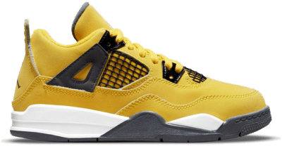 Air Jordan 4 Retro PS Tour Yellow/Dark Blue Grey-White grey BQ7669-700