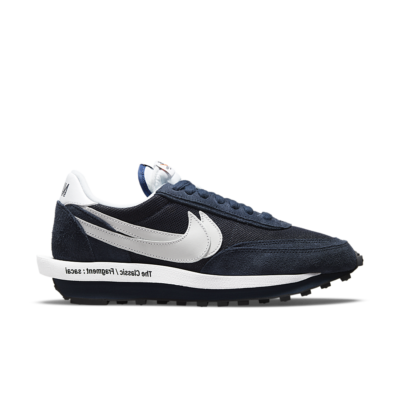 Nike LDWaffle x sacai x Fragment 'Blackened Blue' Blackened Blue DH2684-400