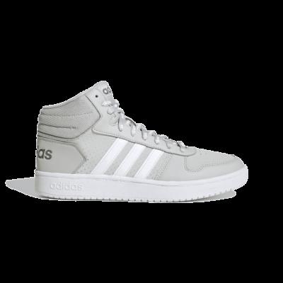 adidas Hoops 2.0 Mid Grey Two FW4477