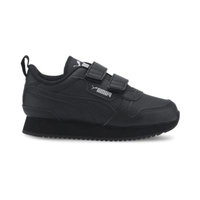 PUMA R78 Kids' s, Black/Grey Violet Black,Black,Gray Violet 374429_01