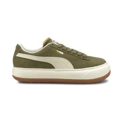 Puma Suède Mayu UP sneakers dames Groen / Wit 381650_04