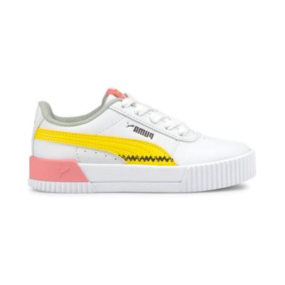 Puma x PEANUTS Carina sneakers kinderen Wit 381879_01