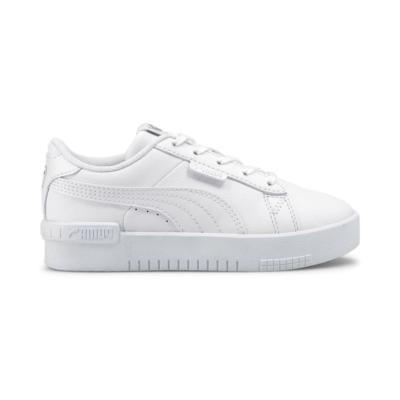 PUMA Jada Kids' s, White/Silver White,Silver 381991_02