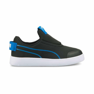 PUMA Courtflex V2 Slip-On Kids' s, Lotus/Black Lotus,Black 374858_08