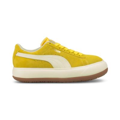 PUMA Suede Mayu Up Women's Sneakers, Super Lemon/Marshmallow/Gum 3 Super Lemon,Marshmallow,Gum 3 381650_03