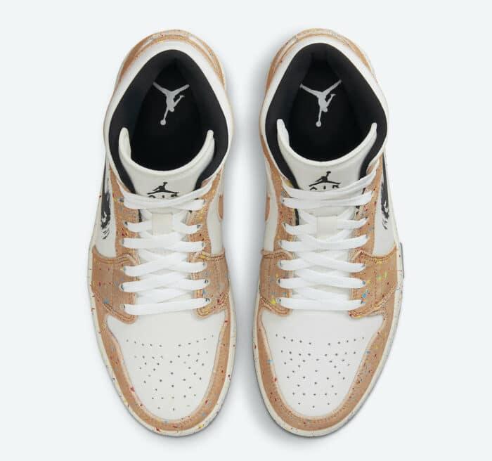 Air Jordan 1 sneaker verfspatten