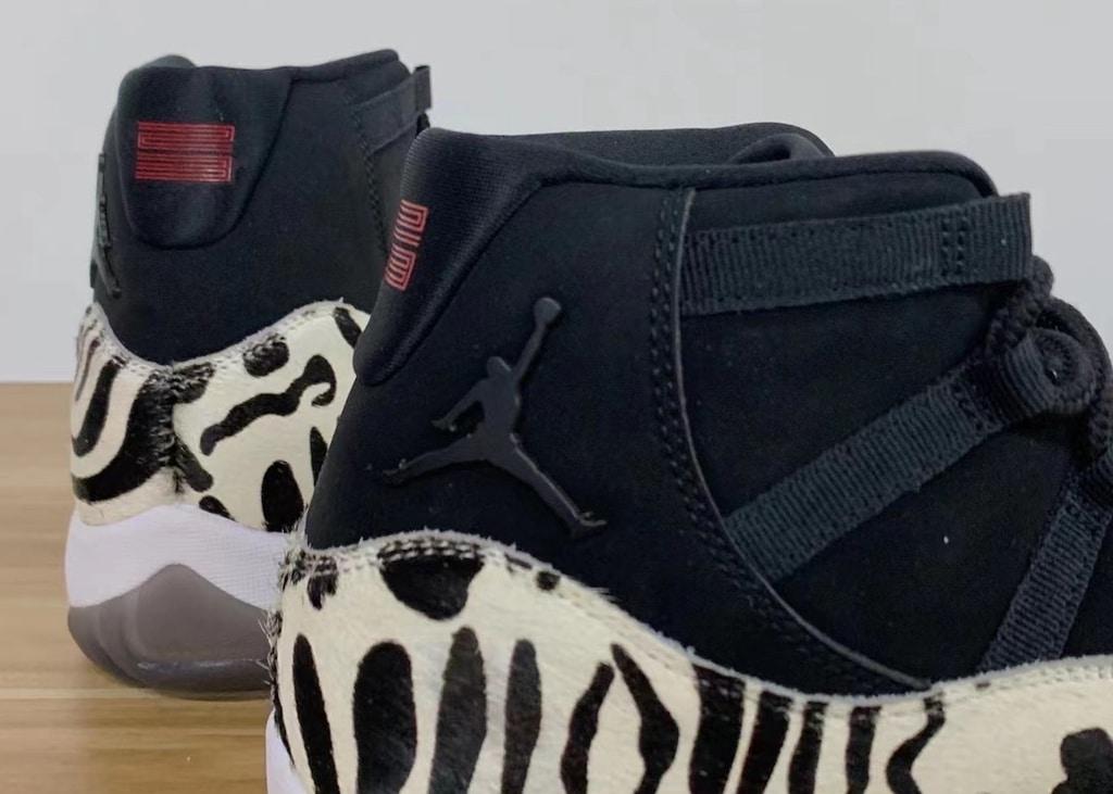 Eindelijk foto's opgedoken van de nieuwe Air Jordan 11 'Animal Instinct'