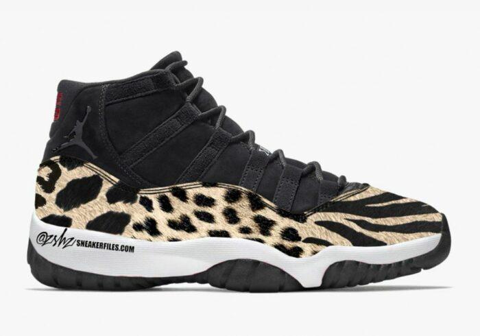 mock up 11 Jordan
