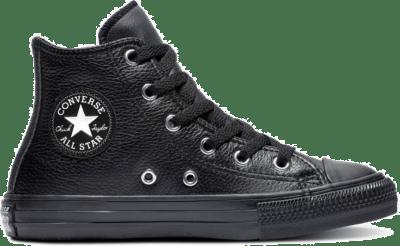 Elevated Leather Chuck Taylor All Star zwart/zwart/zwart 671498C