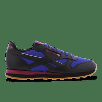 Reebok Classic Leather Schoenen Core Black / Bright Cobalt / Punch Berry GY0211