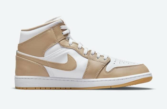 mid gum tan Nike Air Jordan 1