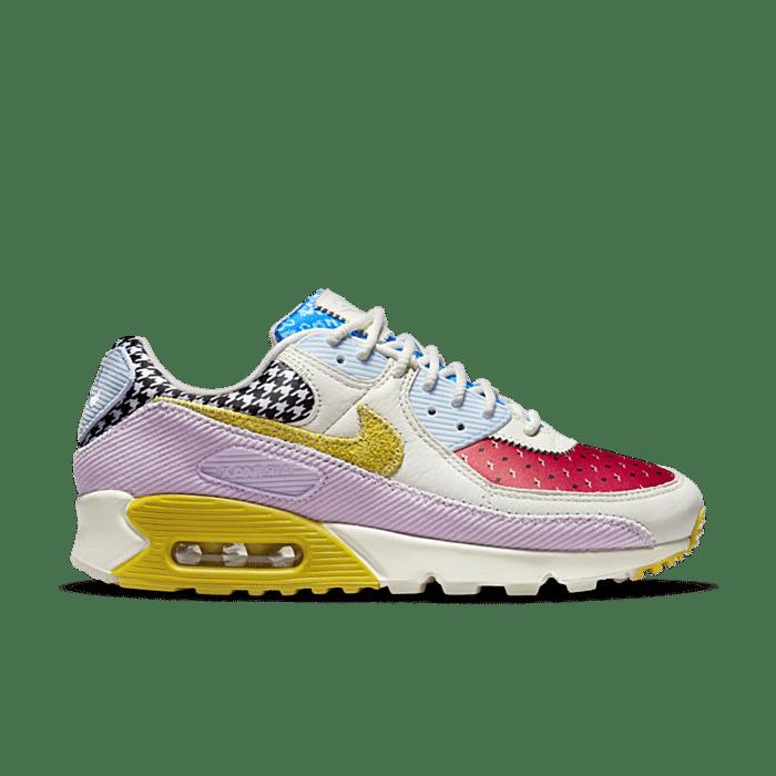 Nike Wmns Air Max 90 *Patchwork* Sail / Bright Citron / Doll / Lobster DM8075 100
