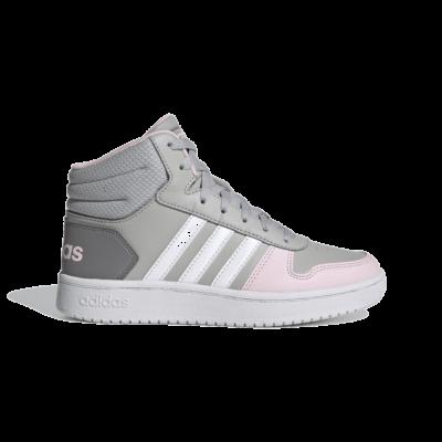 adidas Hoops 2.0 Mid Grey Two GZ7772
