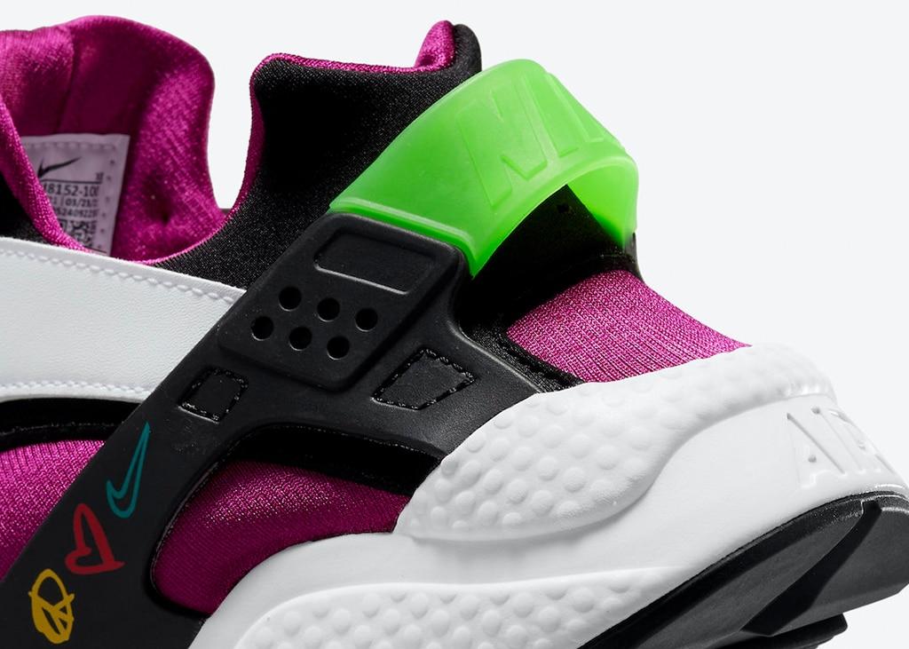 Binnenkort komen de 'Peace, Love, Swoosh' Nike Air Huarache uit