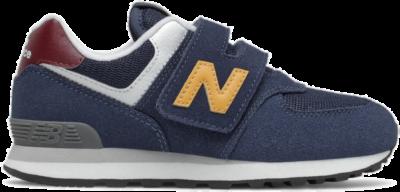 New Balance  PreBoys 574 Blue/Yellow