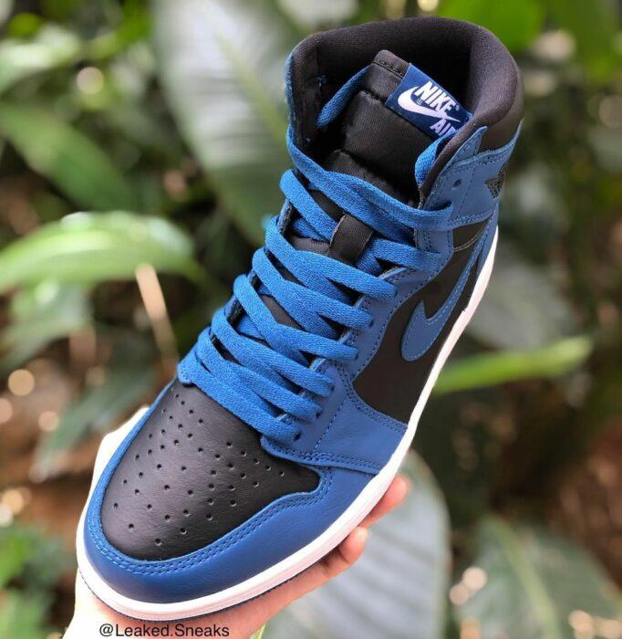 dark marina blue Jordan air 1