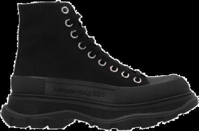Alexander McQueen Tread Slick Low Lace Up Boots Black (W) 611706W4MV21000