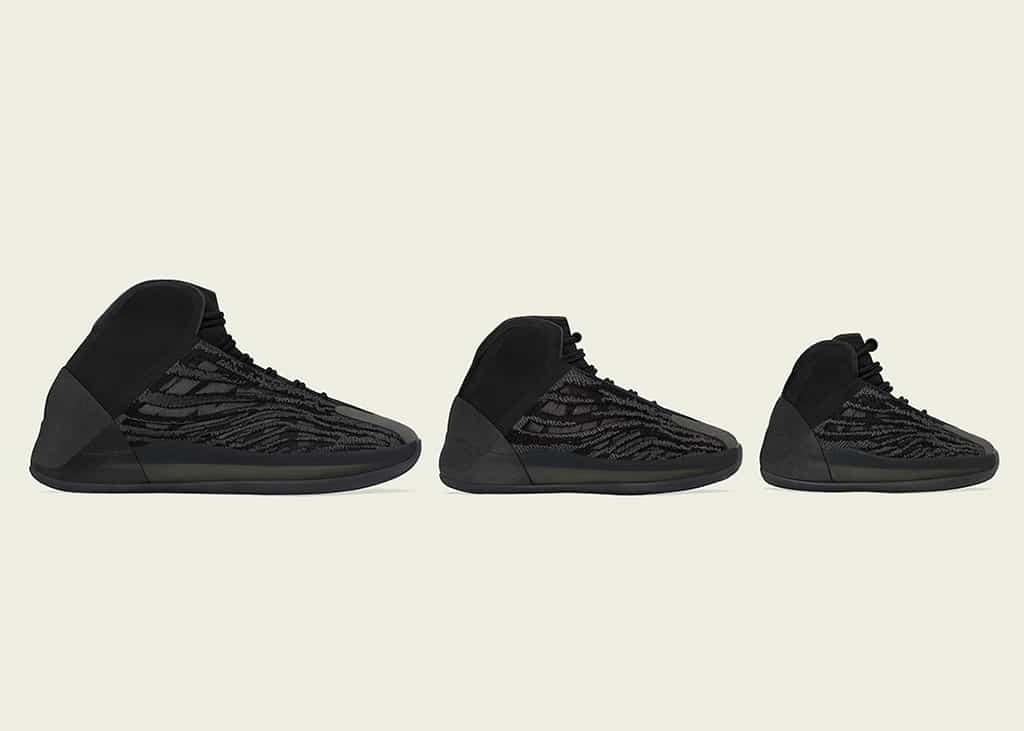 Op 10 september dropt de adidas Yeezy Quantum 'Onyx' in een full size run