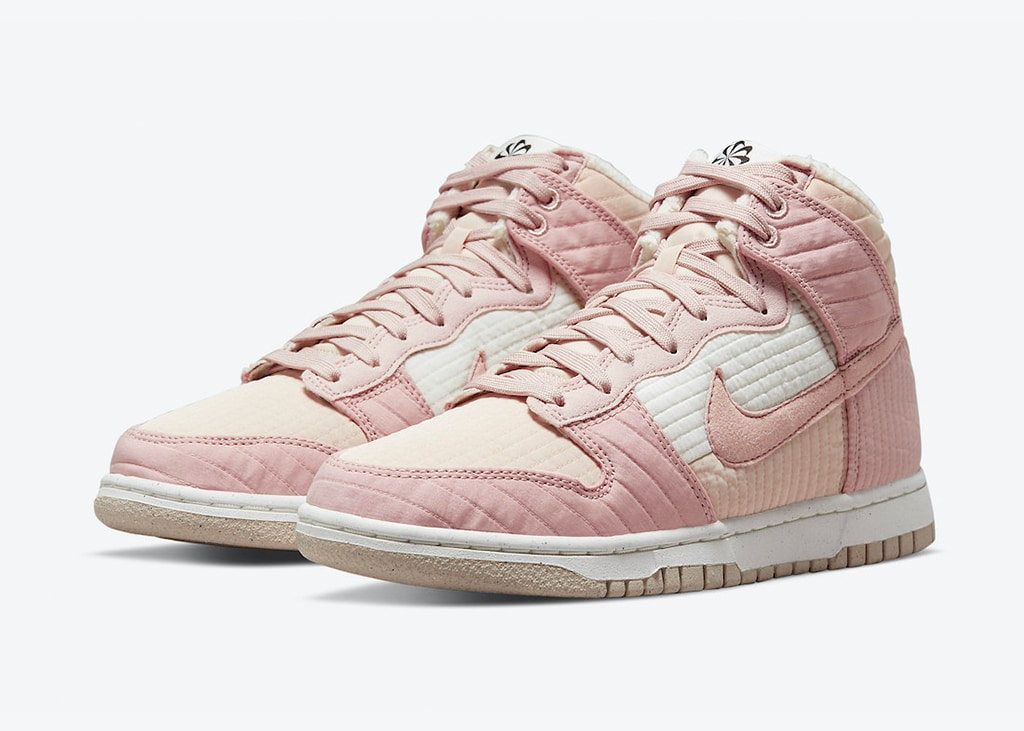 Lets give a toast voor de roze Nike Dunk High 'Toasty'