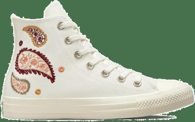 Fall Florals Chuck Taylor All Star egret/healing clay/zwart 572544C