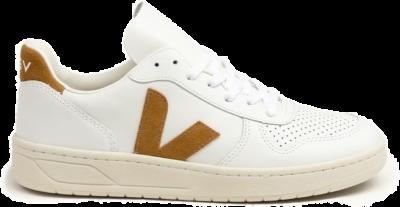 Veja V-10 Leather Extra White / Camel VX0202652B