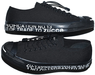 Converse Jack Purcell ZUCCa Black ZU13AJ8022624.0