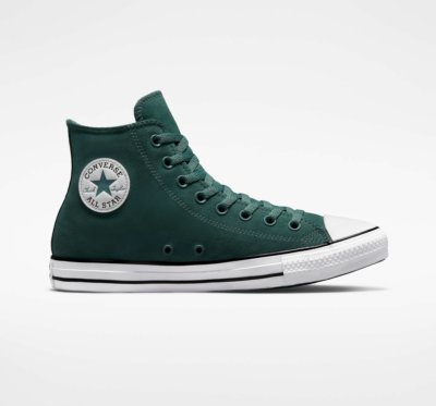 Converse Color Leather Chuck Taylor All Star forest pine/zwart/wit 171465C