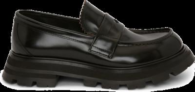 Alexander McQueen Wander Loafer Black (W) 666328WHZ801000