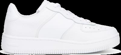 Tommy Jeans Wmns Textured Leather Basket Cupsole White EN0EN01427YBR