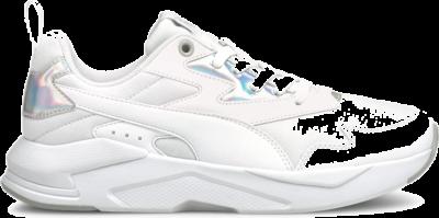 PUMA X-Ray Lite Metallic Women's s, White/Silver White,Silver 368858_03