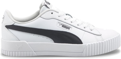 PUMA Carina Crew Women's s, White/Black White,Black 374903_05