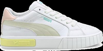 PUMA Cali Star Women's s, White/Vaporous Grey/Yellow Pear White,Vaporous Gray,Yellow Pear 380176_08