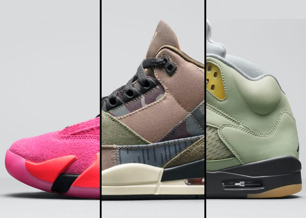 Drie van die: First look op drie paar nieuwe Air Jordans