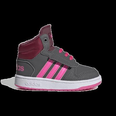 adidas Hoops 2.0 Mid Grey Five GZ7798