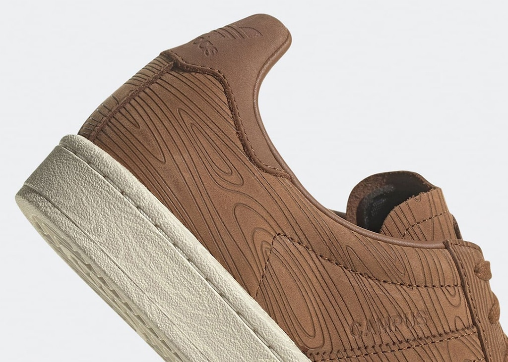 Woodn't that be awesome? De adidas Campus 80s 'Woodgrain'