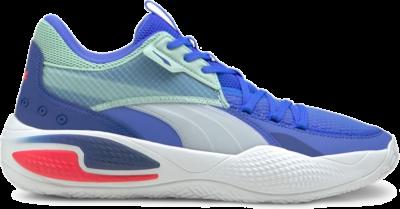 Women's PUMA Court Rider I Basketball Shoe Sneakers, Bluemazing/Eggshell Blue Bluemazing,Eggshell Blue 195634_05