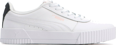 PUMA Carina Leather Women's s, White/Rosewater White,Rosewater 370325_23