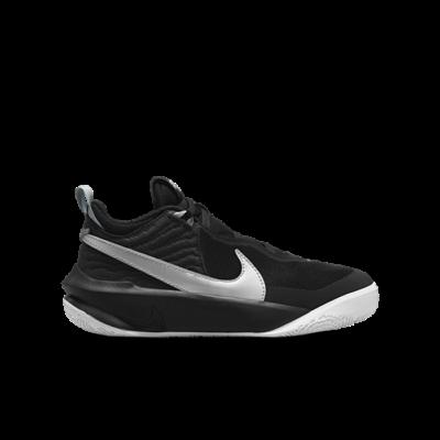 Nike Team Hustle D 10 Zwart CW6735-004