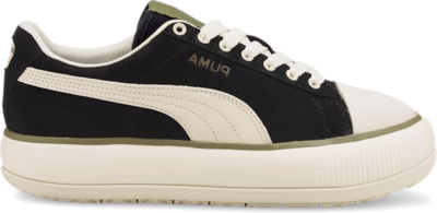 PUMA Suede Mayu Infuse Women's s, Black/Ivory Glow/Covert Green 382550_02