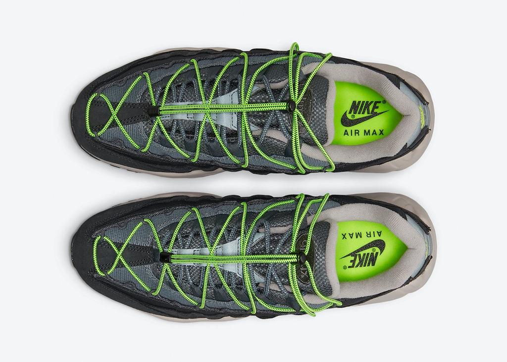 Nieuw paar Nike Air Max 95 aangekondigd met 'Speed lacing' systeem