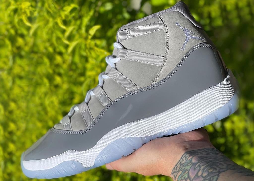 Op 11 december komen de Air Jordan 11 'Cool grey' uit