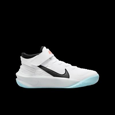 Nike Team Hustle D 10 FlyEase Wit DD7303-102
